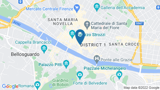 Porcellino Gallery Map