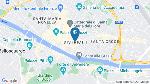 San Firenze Suites & Spa Map
