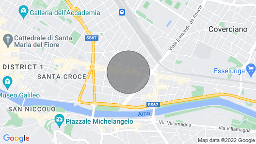 Apartment/ Flat - Florence in the Center With Terrace and Parking Map