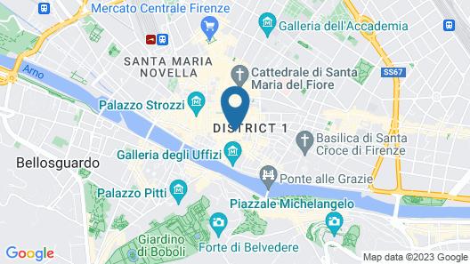 Family Apartments Signoria Map