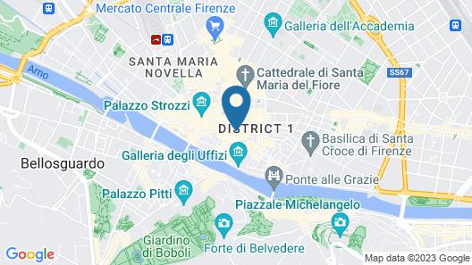 Hostel Veronique Map