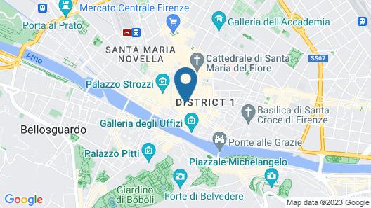 Hotel Calimala Map