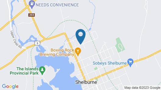 Wildwood Motel Map