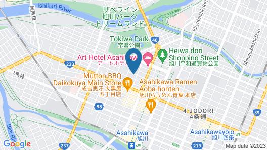 TKD HOUSE Asahikawa Map