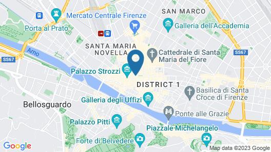Hotel Pendini Map