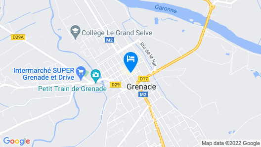 Villa Léopoldine Map