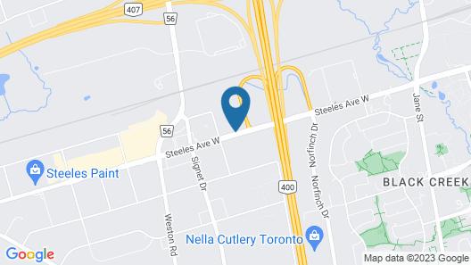 Staybridge Suites Toronto - Vaughan South, an IHG Hotel Map