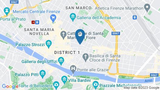 Hotel Dalì Map