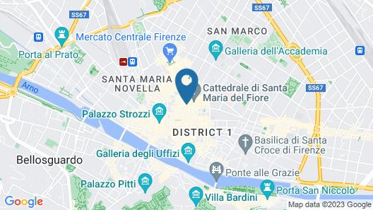 Soggiorno Battistero Map