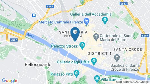 Hotel Garibaldi Blu Map