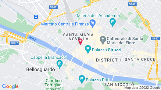 The Place Firenze Map