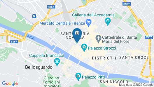 J.K. Place Firenze Map