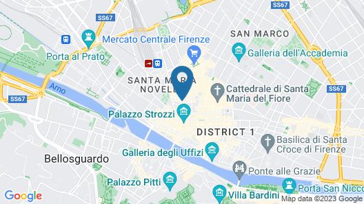 Tornabuoni Boutique Map
