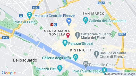 Hotel Laurus al Duomo Map