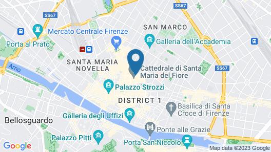 Hotel Duomo Map