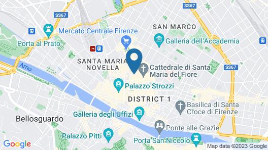 Hotel San Giovanni Map