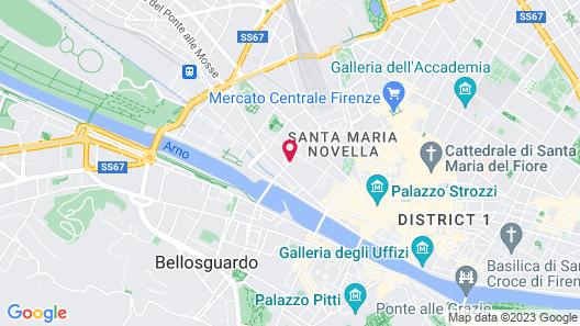 Grand Hotel Adriatico Map