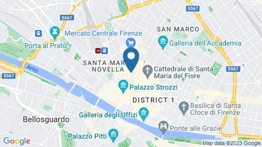Relais Hotel Centrale - Residenza D 'Epoca Map