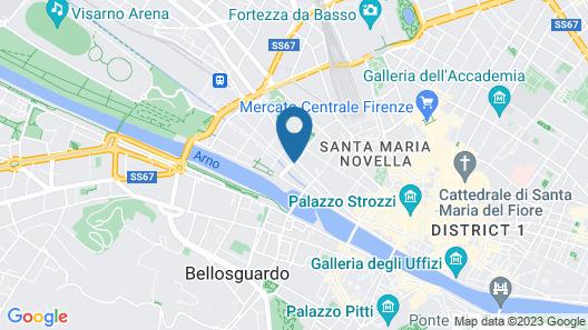1 Suite Firenze Map