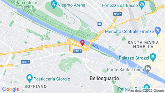 Dimora Bandinelli Firenze Map