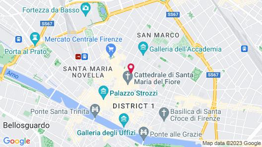 Residenza dei Pucci Map