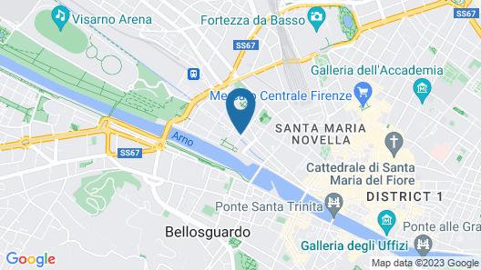 Hotel Kraft Map