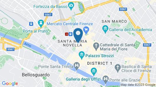 Grand Hotel Baglioni Map