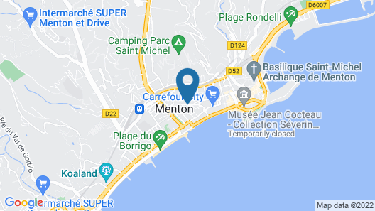 Pierre & Vacances Résidence Les Citronniers Map