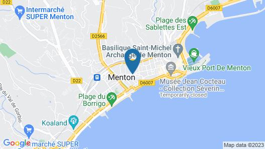 Hôtel Richelieu Map