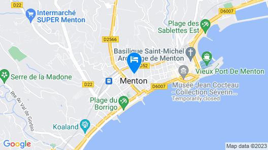 Grand Hôtel des Ambassadeurs Map