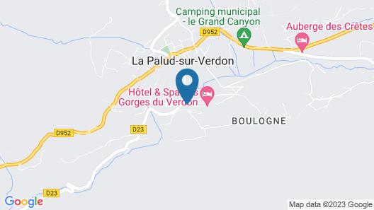 Hôtel & Spa des Gorges du Verdon Map