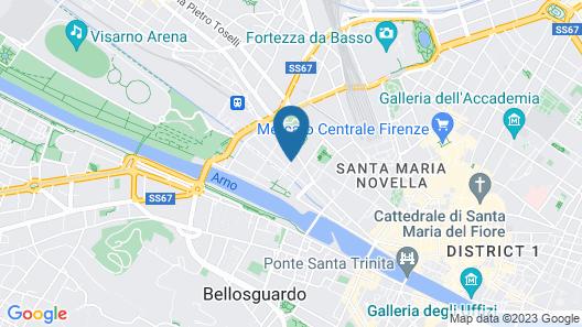Montebello Splendid Hotel Map
