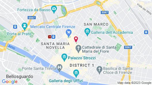 Palazzo Tolomei - Residenza d'Epoca Map