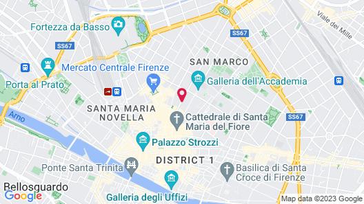 Arte' Boutique Hotel Map