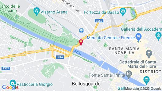 NH Firenze Map