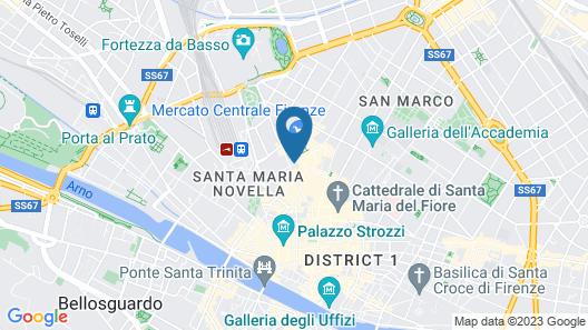 Globus Urban Hotel Map