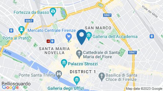 Hotel Casci Map