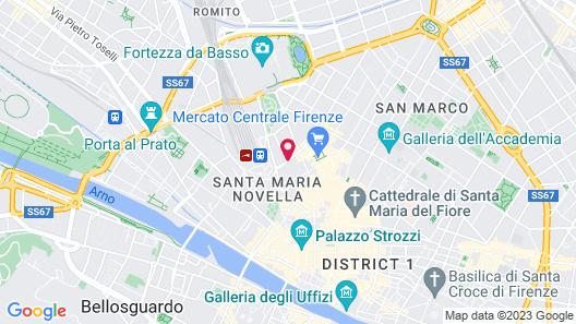 Hotel Cosimo De' Medici Map