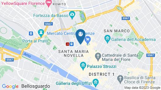 Aurum Firenze Map