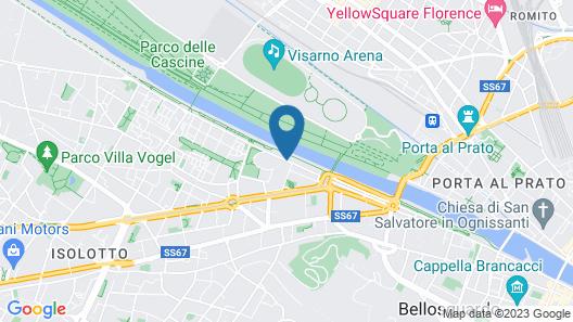 Riva Lofts Florence Map