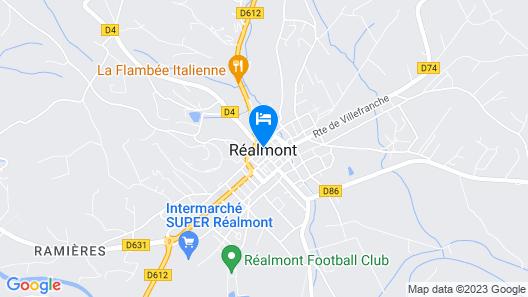 Le Mont Royal Map