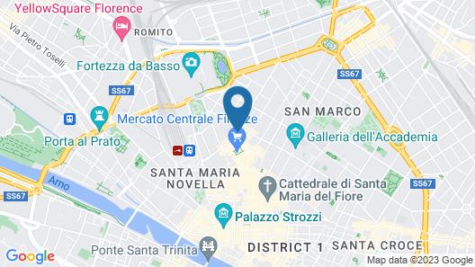 florence dance Map