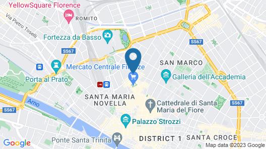 Hotel Galileo Map