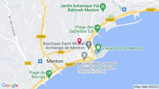 Villa Gaby Map