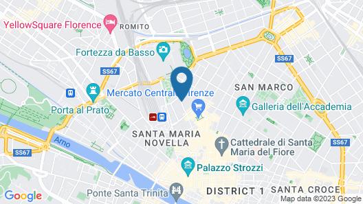 Hotel Marios Map
