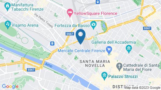 Hotel Arcadia Map
