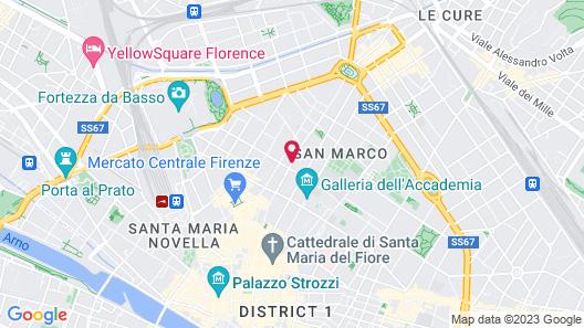 Orto De Medici Hotel Map