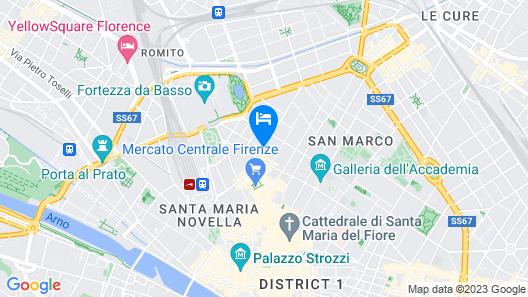 Palazzo Castri 1874 Map