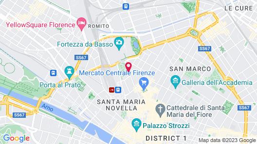 Arco Antico Map