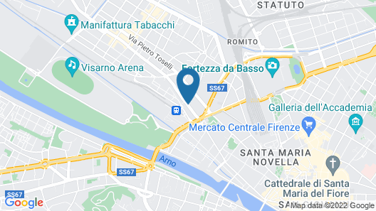 Porta al Prato Map